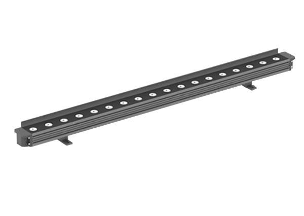 小巧款带挡板18W大功率洗墙灯